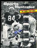 12/14 1964  Sports Illustrated Charley Johnson Cardinals SIGNED AUTOGRAPH