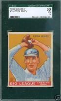 1933 Goudey #74 Eppa Rixey sgc 60 5 ex