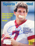 9/5 1984 Sports Illustrated Joe Theismann  signed