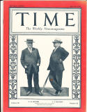 6/27 1927 JJ McGraw  NM Butler New York Giants owner HOF  Time Magazine