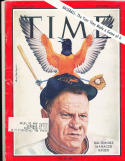 Hank Bauer baltimore Orioles 9/11 1964  Time Magazine em label