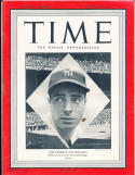Joe Dimaggio New York Yankees 10/4 1949 no label nm  Time Magazine