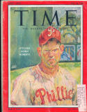 Robin Roberts Philadlephia Phillies Time Magazine em label