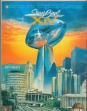 1980 Superbowl program XIV nm