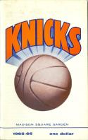 1965 New York Knicks Yearbook  Press Media Guide