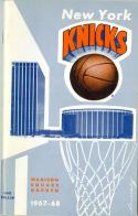 1967 New York Knicks Yearbook  Press Media Guide