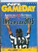 1993 49ers vs Redskins Conference Football Program