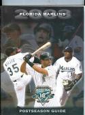 2003 Florida Marlins Postseason Guide nm