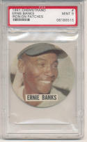 1961 Chemstrand Ernie Banks psa 9 Cubs