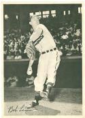 1950 Num Num Bob Lemon Cleveland Indians card