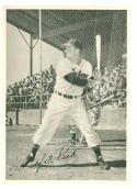 1950 Num Num hale Peck Cleveland Indians card