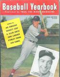1950 Baseball Yearbook Ted Williams Red Sox