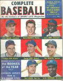 1950 fall Complete Baseball magazine Jackie Robinson Dodgers