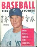 1953 Baseball Life Stories Allie Reynolds