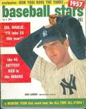 1957 Baseball Stars Don Larsen Yankees
