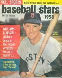 1958 Baseball Stars Ted Williams Red Sox