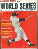 1961 Complete Sports World Series Baseball magazine Mickey Mantle Yankees