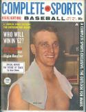 1962 Complete Sports Baseball magazine Roger Maris Yankees