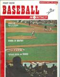 1962 March Baseball Monthly Reds Players