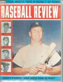 1964 Baseball Review Mickey Mattle Yankees
