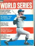 1965 Complete Sports World Series Baseball Mickey Mantle Yankees