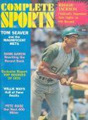 1970 spring Complete Sports Baseball magazine Reggie Jackson A's