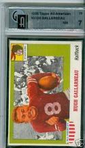 1955 Topps Hugh Gallarneau Gai 7 #75