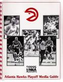 NBA Atlanta Hawks 1995 Playoffs Media Guide