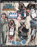NBA Orlando Magic 1996 Playoffs Media Guide