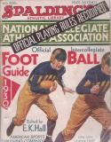 Spalding 1930 Football Guide