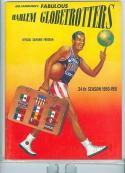 1950 24th season Globetrotters Program near mint