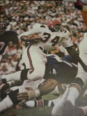 Junior Coffey Atlanta Falcons 1968 SI Sports Illustrated Poster