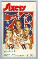 1975 Philadelphia 76ers Year Book