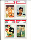 1957 topps Bill Tuttle #72 psa 7 Tigers