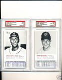 1964 topps all Star banquet Mike Brumley psa 8 mt