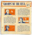 1940 Wheaties Bob Bartlett Terrell jacobs cap hanson Chicago Bears set no 9