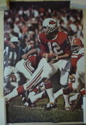 1968 Sports Illustrated  SI Jim Bakken Cardinals poster em-nm