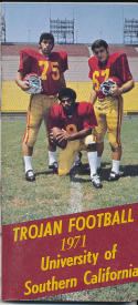 1971 USC Football Guide Clarence Davis  bx  ft guide2