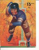 Loyola Marymount Signed 11/27 1938 football program 18 players!
