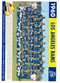 1960 Los Angeles Rams team Falstaff nm original card