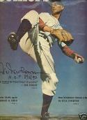 1947 Hal Newhouser signed Colliers magazine em