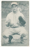 Mickey Cochrane Philadelphia Athletics  ex 1927-1932 Exhibit Card