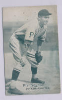 Pie Traynor Pittsburgh Pirates 1927-1932 Exhibit Card