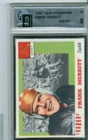 Frank Merritt 1955 topps All American #55 GaI 8 NrMt sp