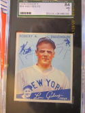 1934 goudey #94 Red Rolfe New York Yankees sgc 84  7 near mint