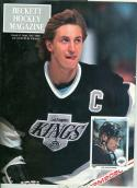 34 Wayne Gretkzy Beckett #1 Hockey Card Magazine 9/1990 nr mt