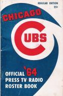 Chicago Cubs 1964 Roster Guide em