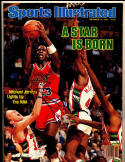 Michael Jordan 12/10 1984 Sports Illustrated Bulls first!  COA