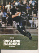 1968 oakland raiders yearbook in nr mt