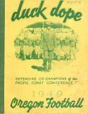 1949 Oregon Ducks  Football Press Media Guide em